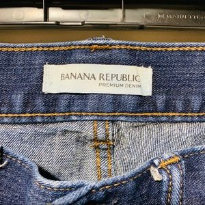 Banana Republic Jeans - {BANANA REPUBLIC} Boyfriend Splatter Jeans